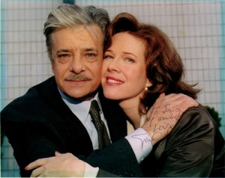 "Iris Quinn as Claire with Giancarlo Giannini in ""Greener Fields"""